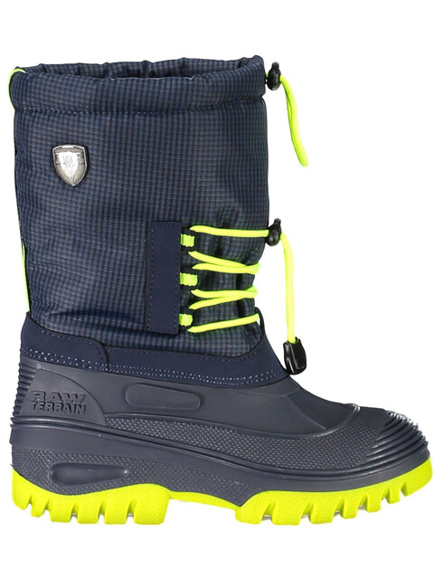 CMP Campagnolo Kids Ahto WP Snow Boots Black Blue